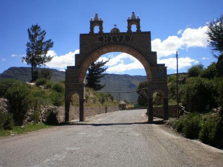 Cañon de Colca-Chivay