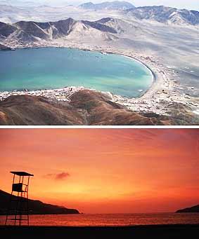 Lugares turisticos del Perú: Balneario Tortugas