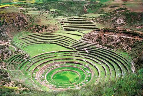 Lugares turísticos del Perú: Maras y Moray en Cusco