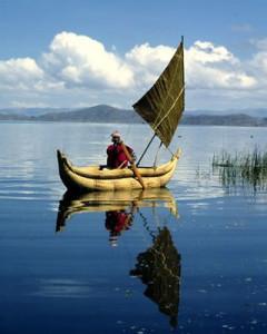 El lago titicaca del PErú