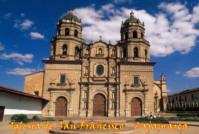 Centros turisticos de Cajamarca