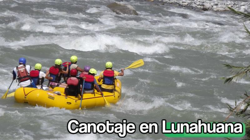 canotaje en lunahuana